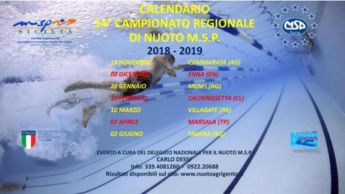 Calendario Regionale Sicilia.Msp Sicilia